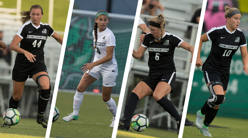 a500ecd781 Women s soccer claims four all-conference selections - Binghamton ...